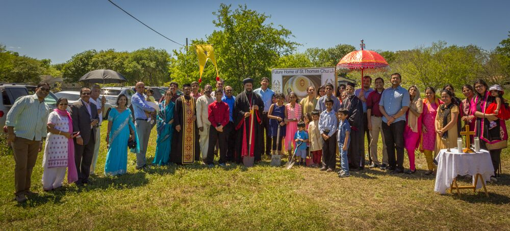 Foundation Stone Laying Ceremony April 3, 2016